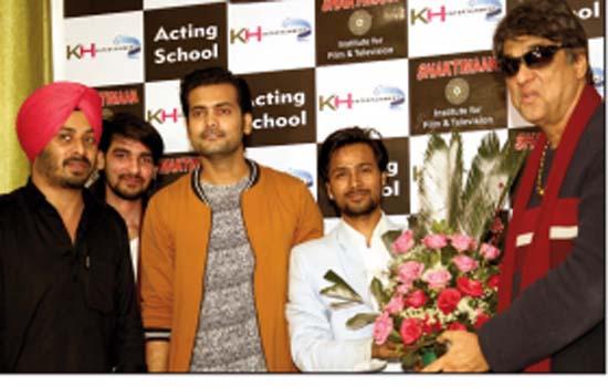 Mukesh Khanna launches Shaktimaan Institute of Acting