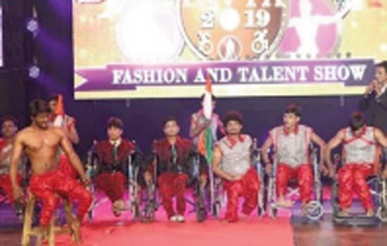 Divyangs showed talent in Hyderabad