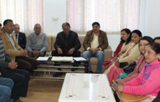 Rajasthan Vidhyapeeth Kul's admin- istrative meeting concluded