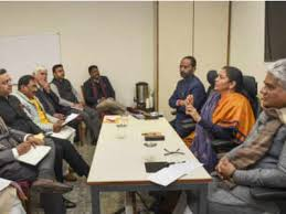 Sitharaman holds pre-budget consultation with party functionaries
