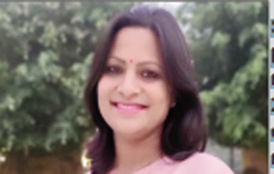 A research scholar Shubha Surana