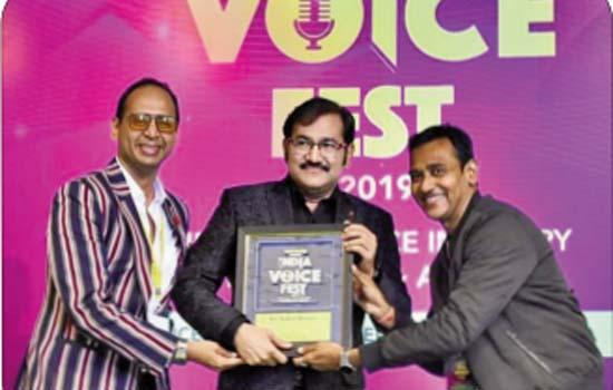 Sudesh Bhosale Wins Big At India Voice Fest 2019