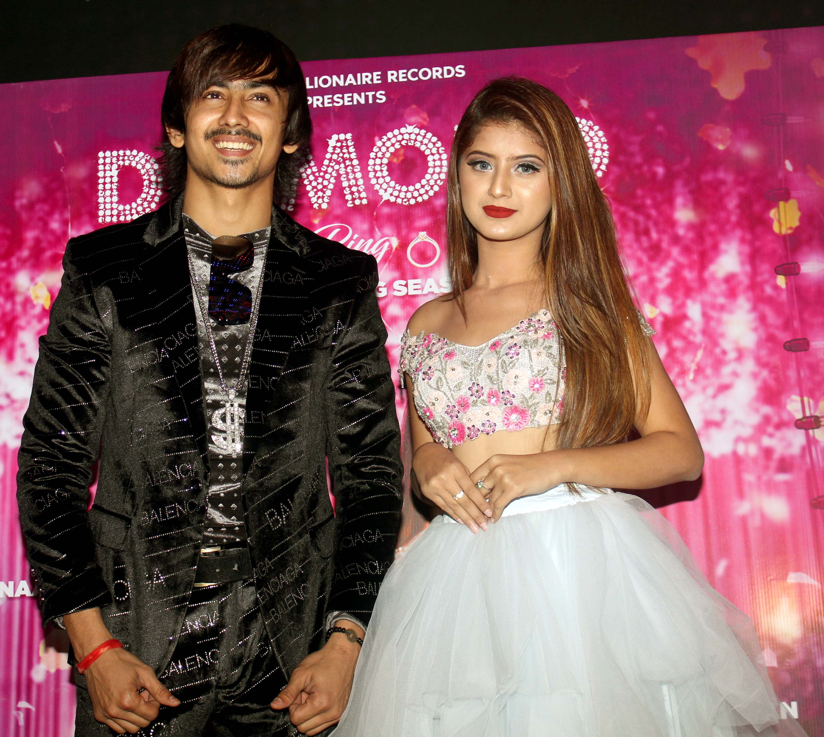TV actor Arishfa Khan and Adnaan Shaikh launched their Diamond Ring song