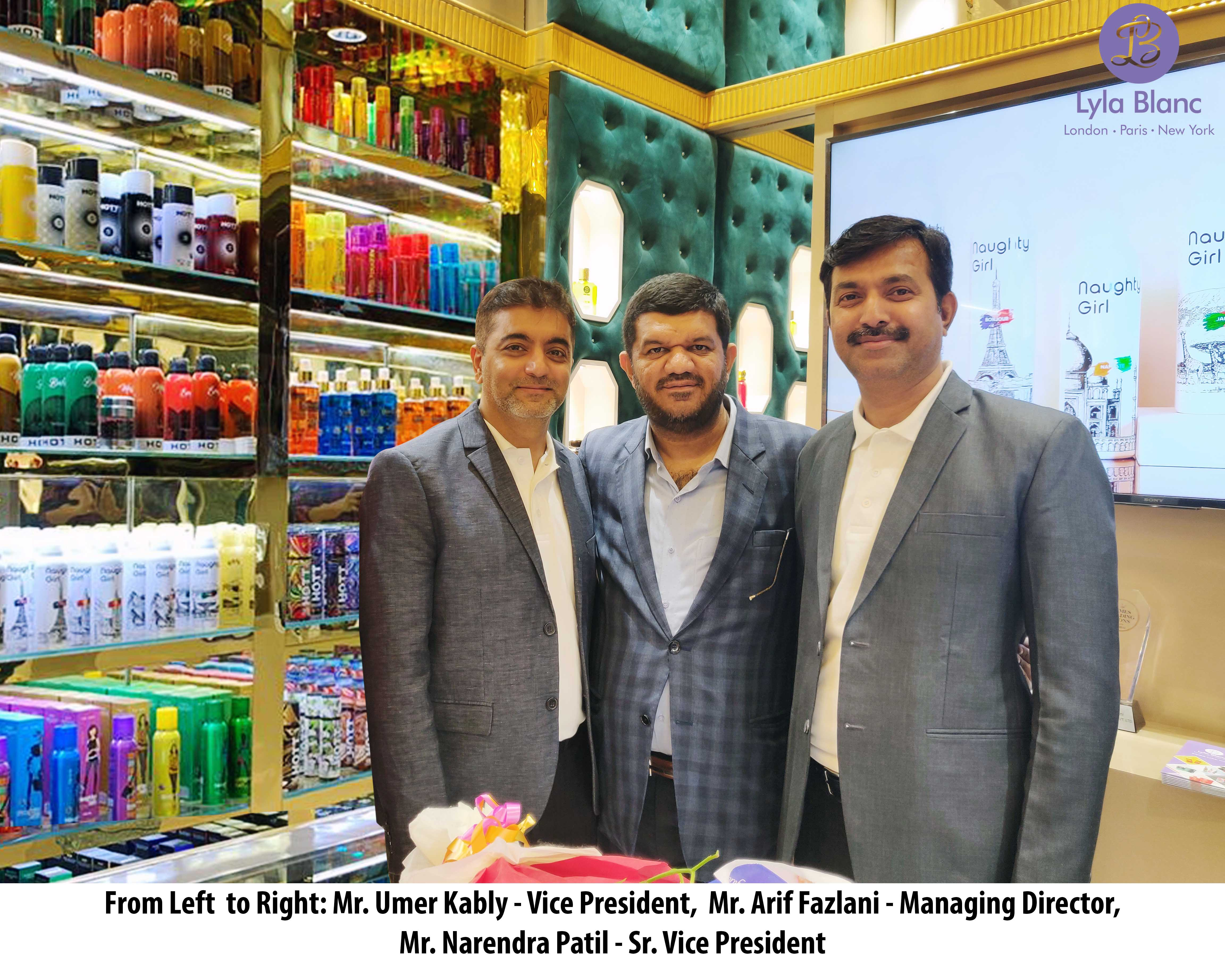 Lyla Blanc perfume launches first store in India with 300 exclusive products