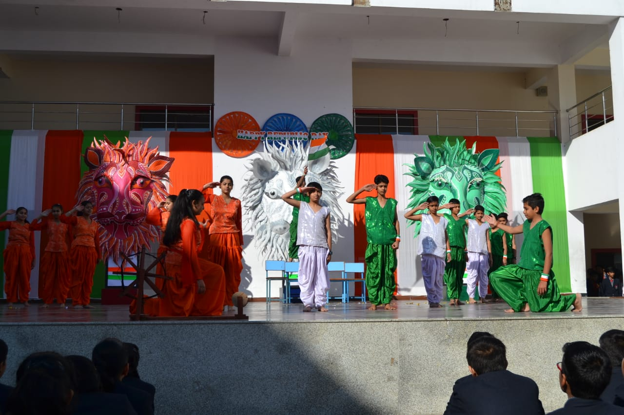 Seedling School Salutes the Indian Republic