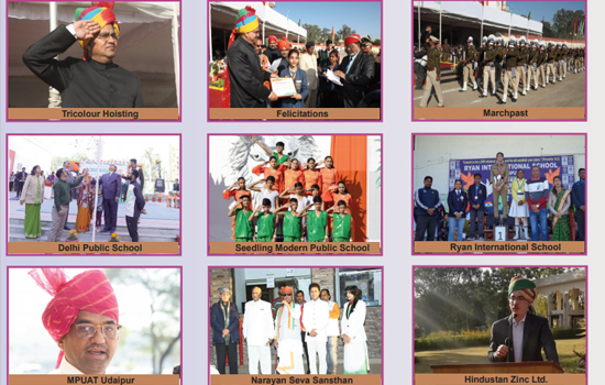 71th Republic Day Celebration in Udaipur
