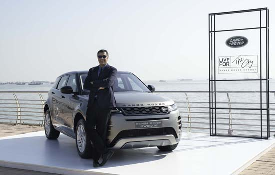 Land Rover Introduces New Range Rover Evoque In India