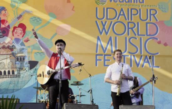 'Vedanta Udaipur World Music Festival 2020' concludes