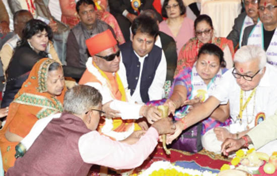 Wedding of 47 disabled and poor couples