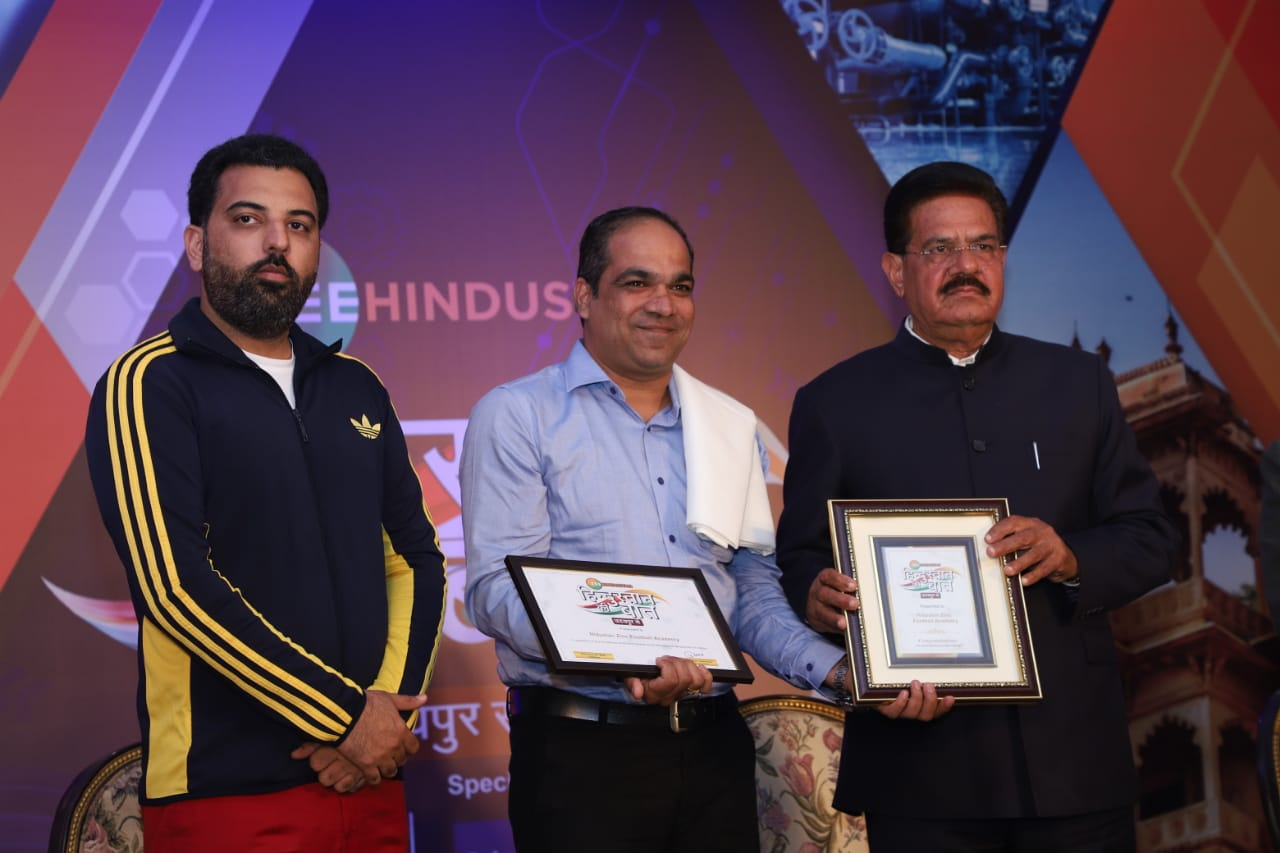 Zinc Football receives Zee Hindustan award