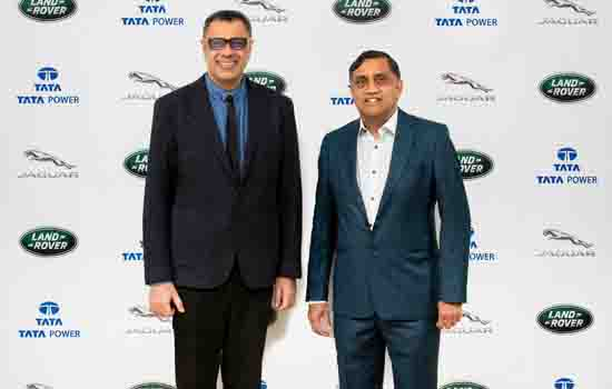 Jaguar Land Rover India and Tata Power announce partnership for.....