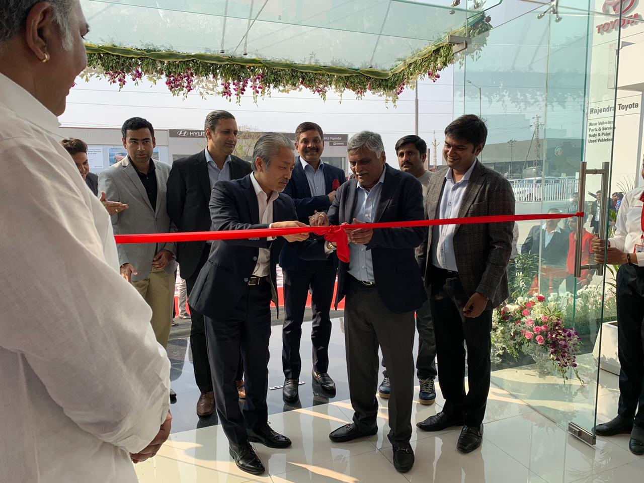 Toyota Kirloskar Motor Inaugurates New Dealership in Udaipur