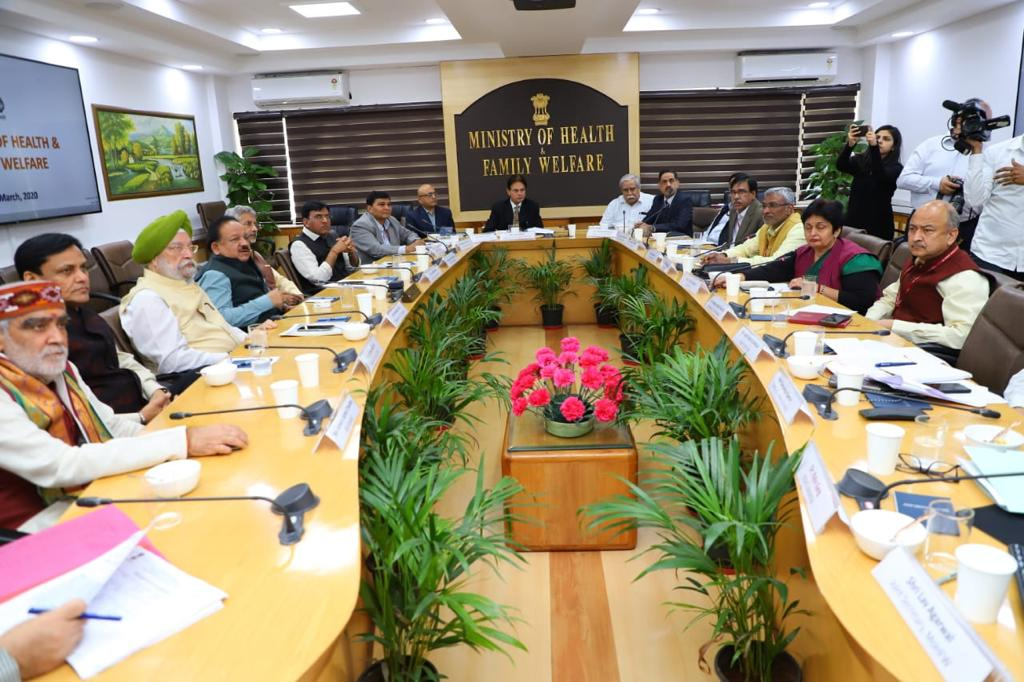High level Group of Ministers reviews current status