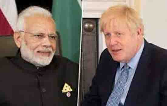 PM Modi holds telephonic conversation with.........