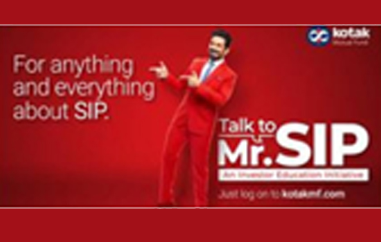 Kotak Mutual Fund launches new ad campaign that brings SIP to life