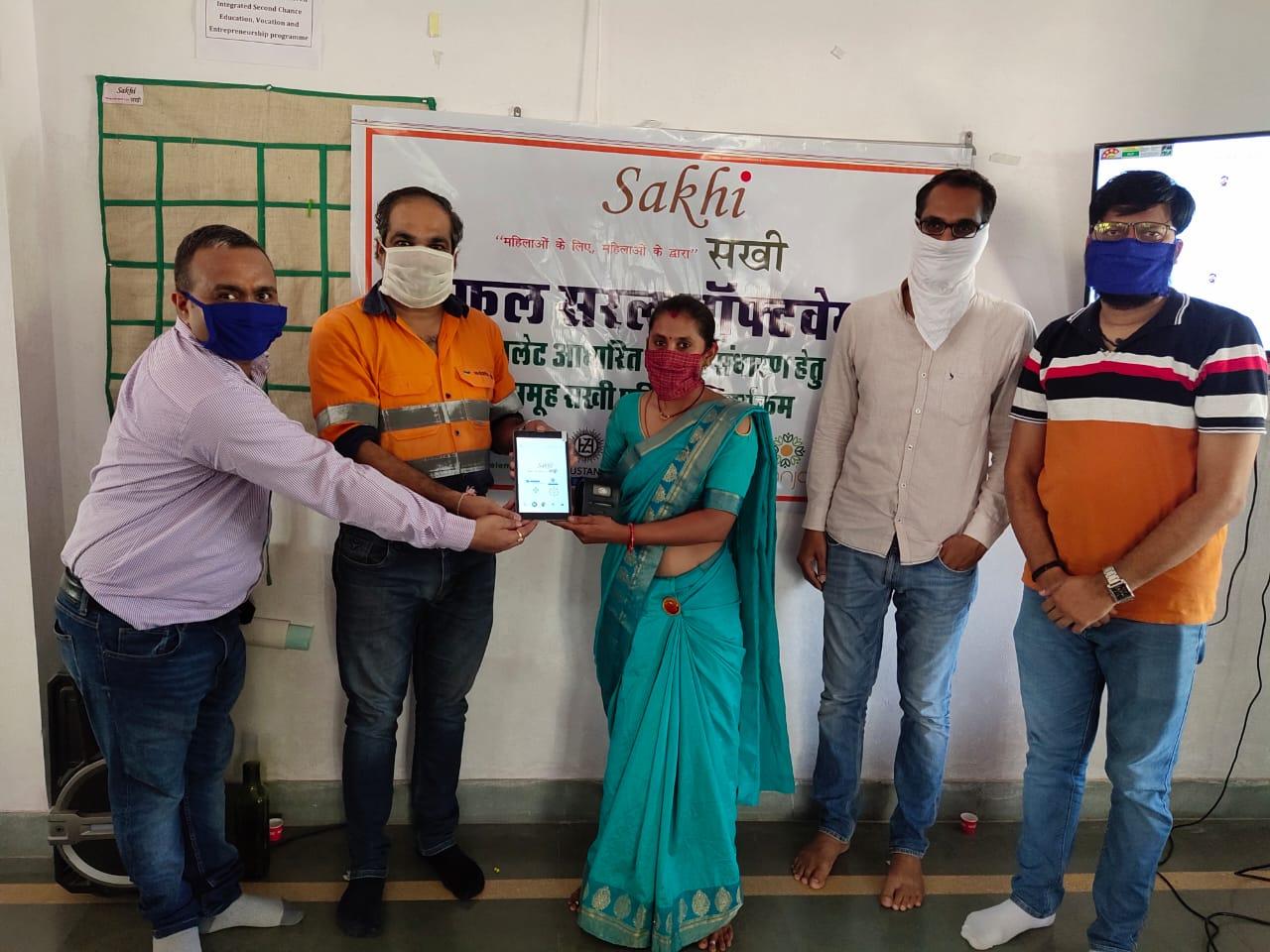 "The Sakhi women of Hindustan Zinc are now digital """