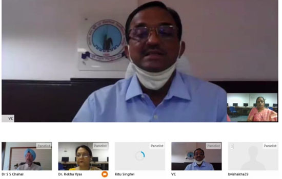 Webinar on 'Role of Information and Communication Technology in the current scenario of Covid-19'