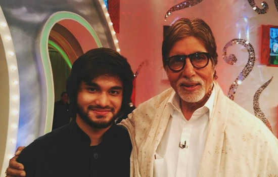 Siddhant Bhosle, May You Be in a League of Your Own: Amitabh Bachchan