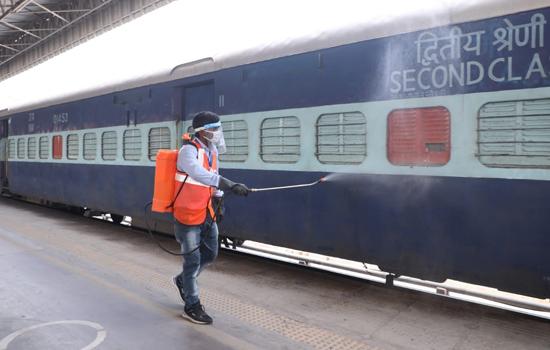 Railway Provides 500 Coaches As Covid Care Centers To Delhi