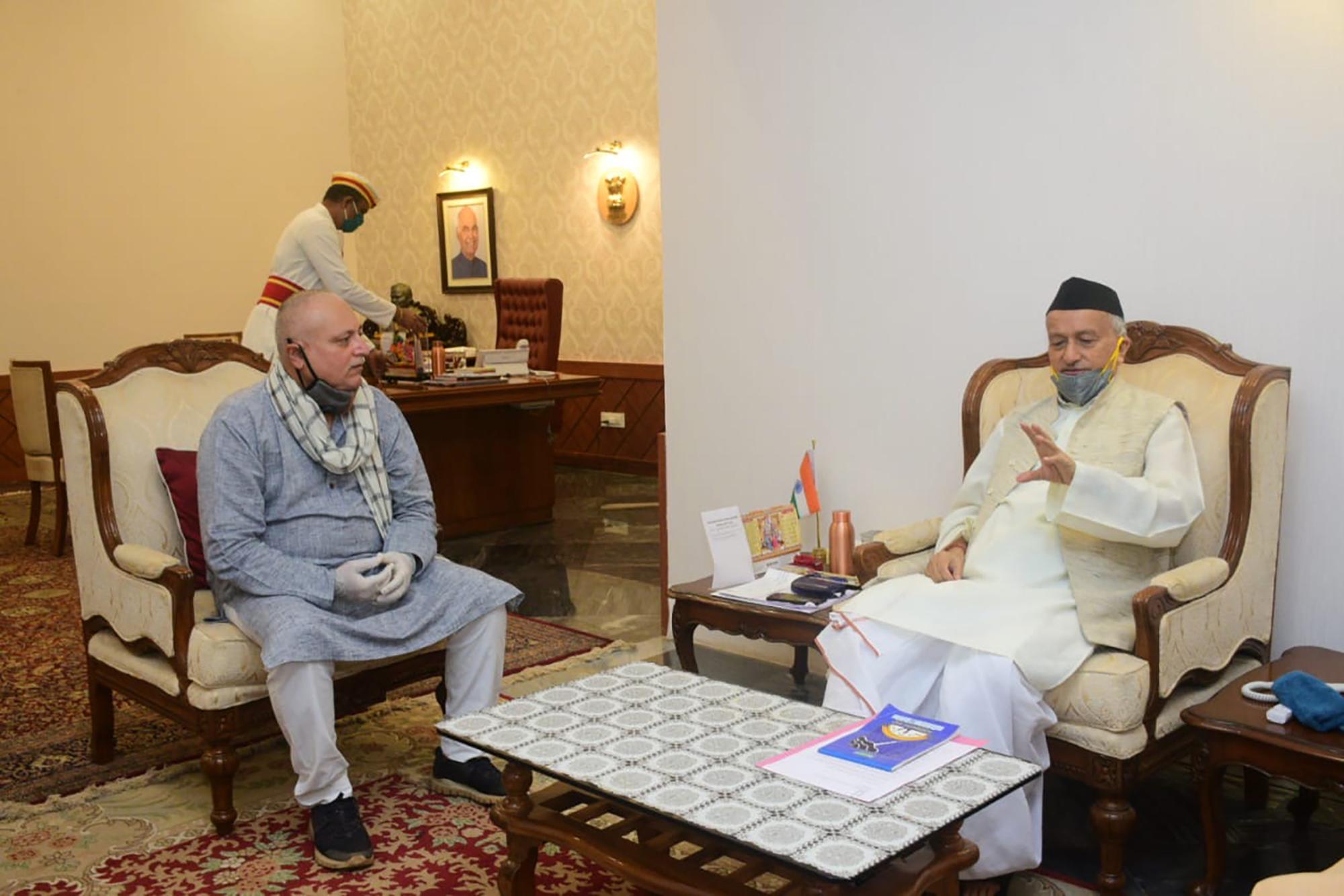 CINTAA Sr VP Manoj Joshi meets Mah Governor to represent senior actor issues