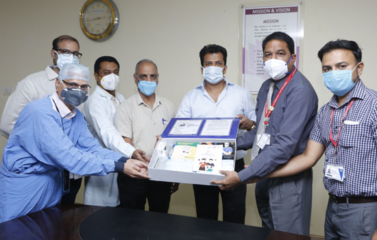 Co-Care Covid-19 Home Isolation Kit Launched by GMCH