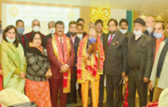 54th Charter Day Celebration of Lions Club Udaipur organized