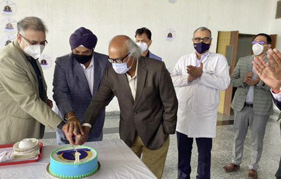 Paras J. K. Hospital celebrated the First Anniversary