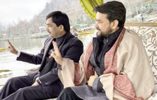 Anurag Thakur : Brightening star of youth politics