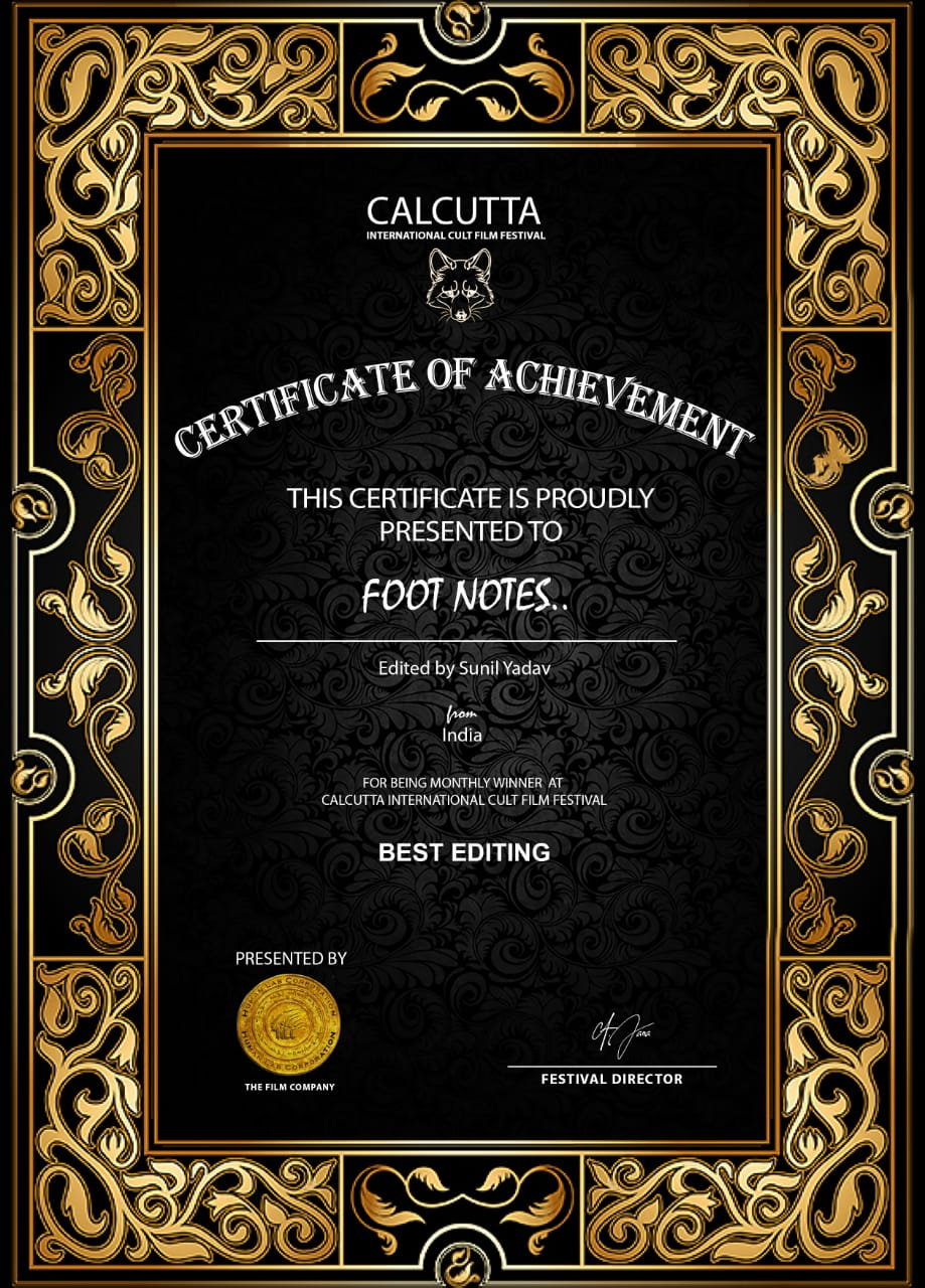 Footnotes Editor Sunil Yadav's Exclusive Interview