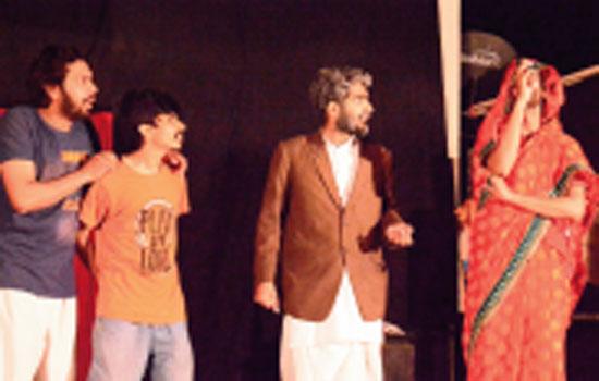 Natyansh staged Shyamkali ka Jadu on its foundation day