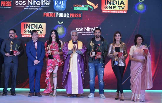 Celebs & Dignitaries Awarded With Make Earth Green Again MEGA Achievers Awards