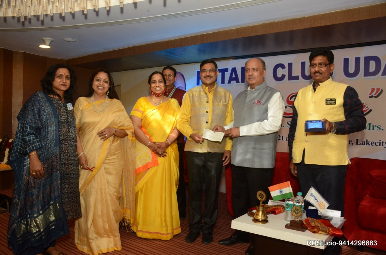 Dr. Kunawat conferred with Major Donor