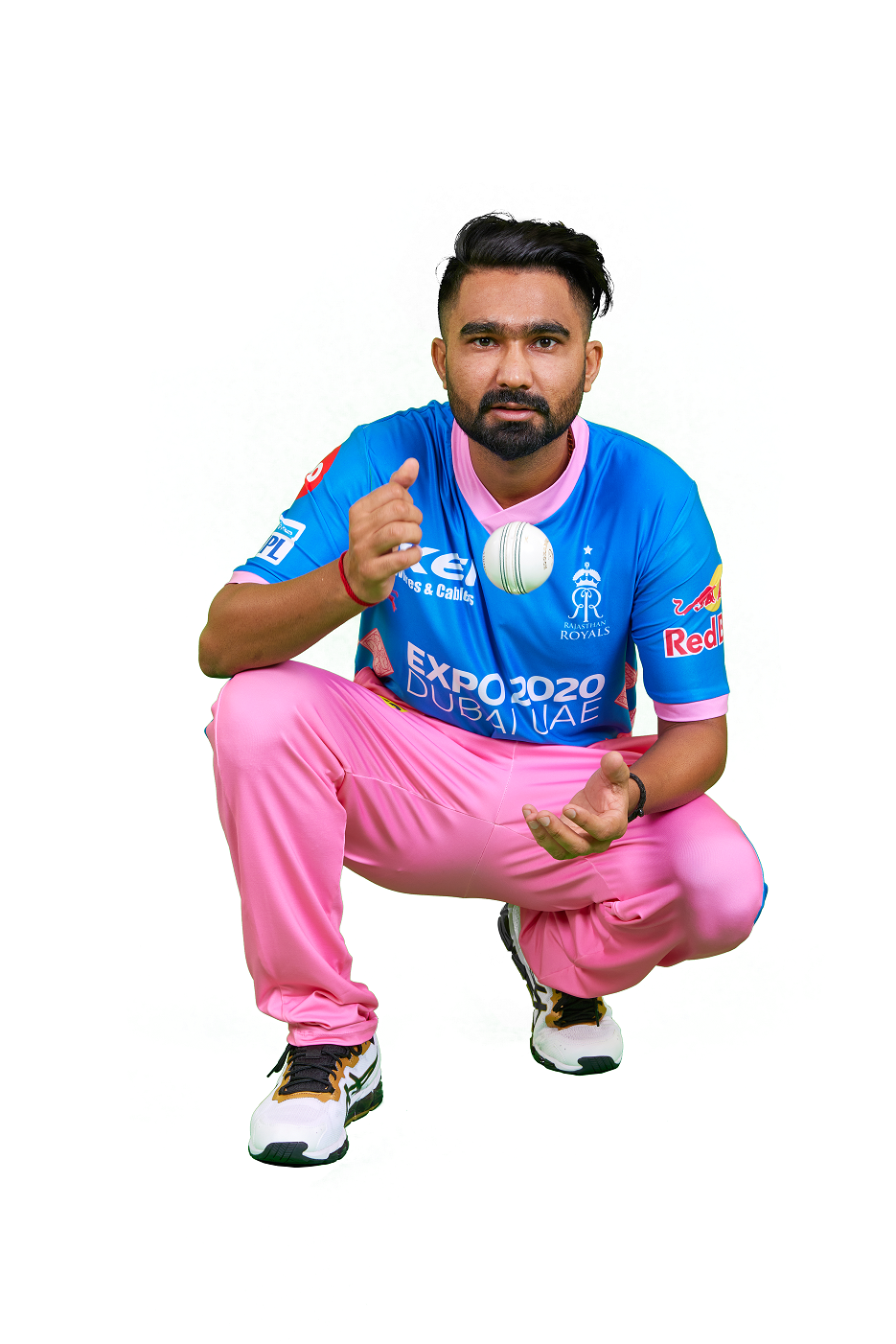AN EPIC REVEAL OF THE NEW IPL 2021 JERSEY FOR RAJASTHAN ROYALS AT THEIR HOME STADIUM