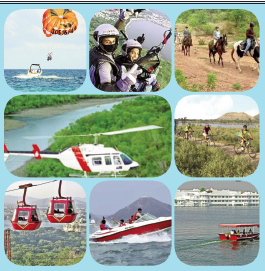 Glorious Royal,Natural Beauty with Adventure ! Attract Tourists in Udaipur