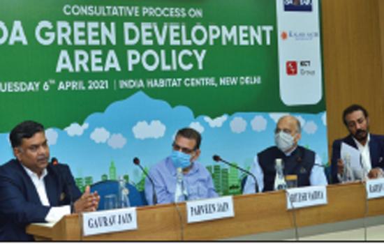 DDA Green Development Area Policy to boost green development and curb pollution in Delhi