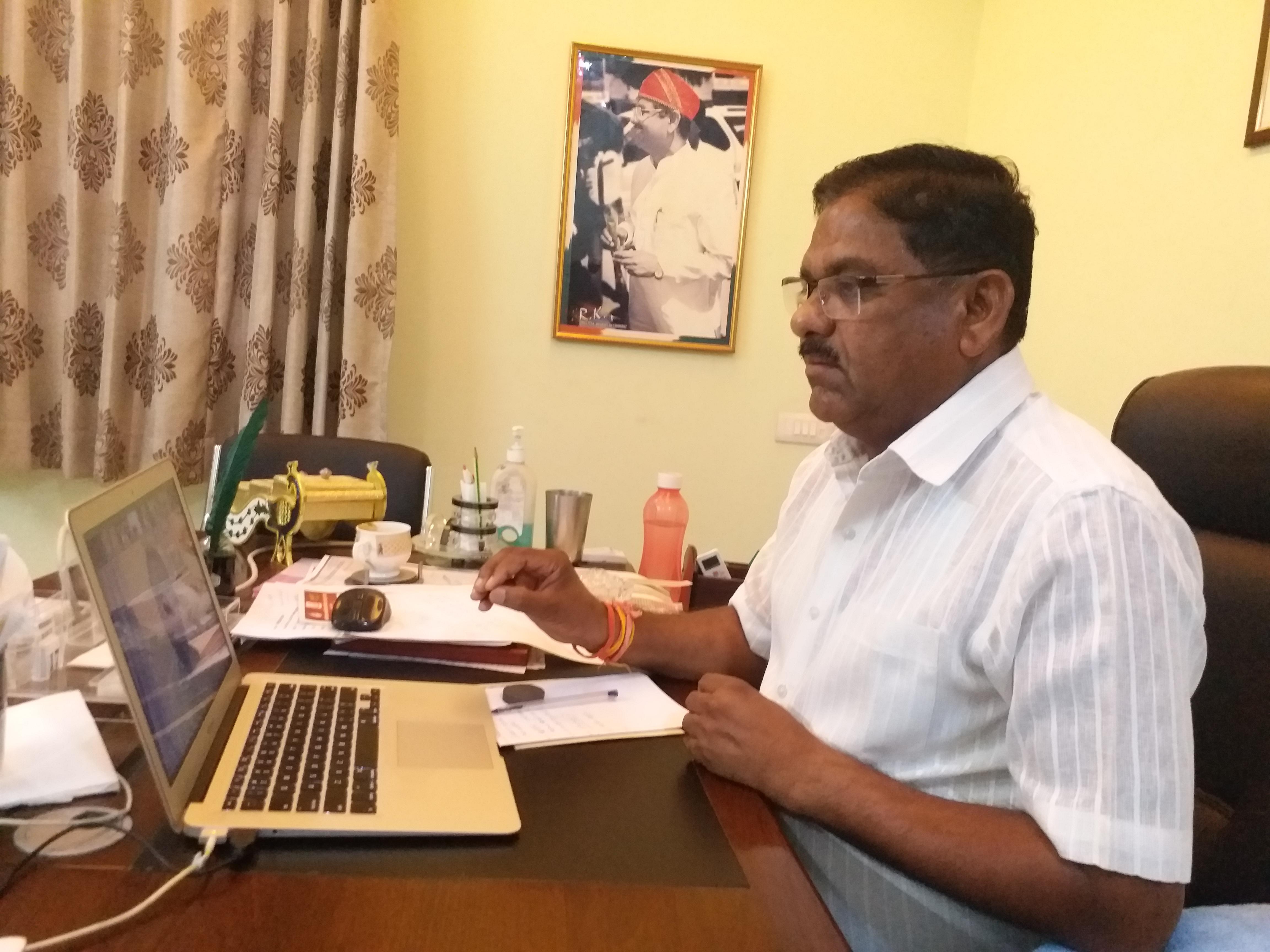 Raghuveer Singh Meena attended the CWC meeting