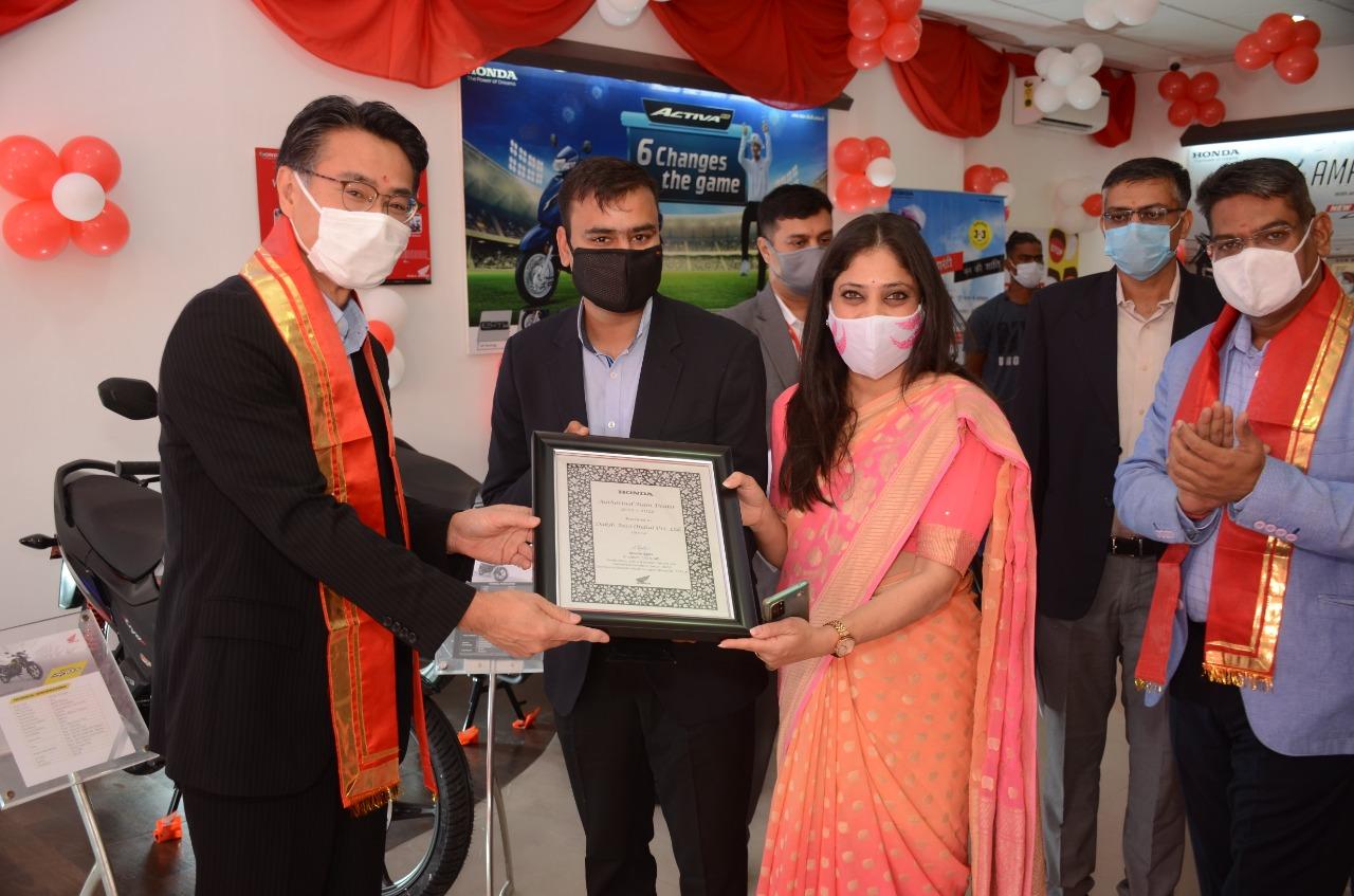 Honda 2Wheelers India's new dealership Daksh Honda welcomes customers in Udaipur