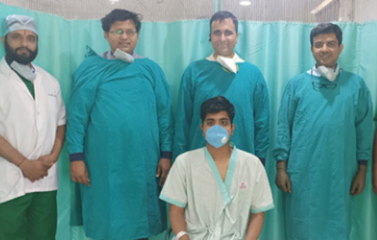 Ulcerative colitis surgery is now possible in Geetanjali Hospital