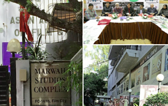 Grand opening of the first professional film studios of North India