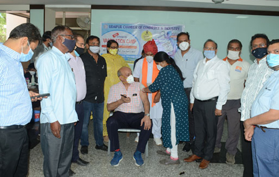 Vaccination camp organized at UCCI