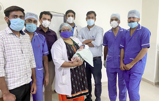 Successful surgery of rare 6-hour baby tracheoesophageal fistula (TEF) in PMCH