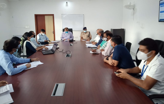 UCCI and District Administrations meeting organized in District Collectorate