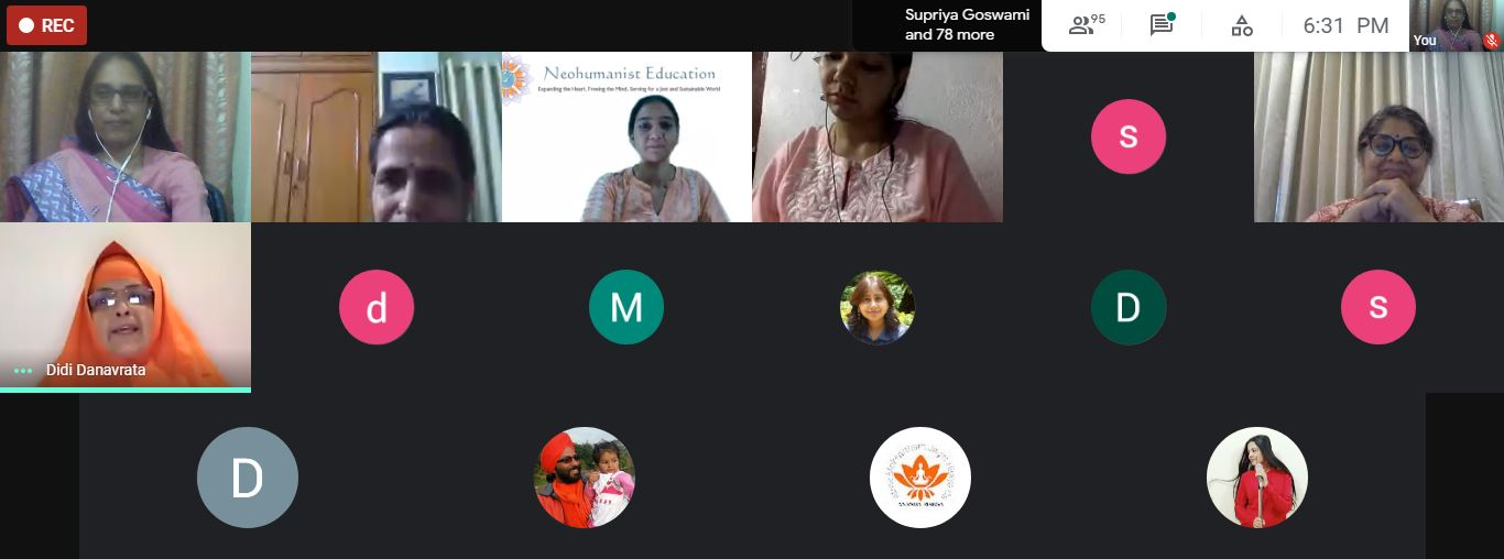 Microvitology- the unique contribution of Shrii P.R. Sarkar : Talk in Online Symposium organized by WWD