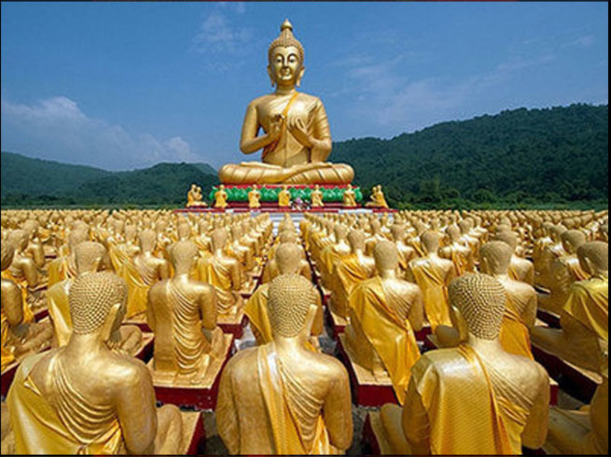 The Powerful message of Buddha for a healthy world