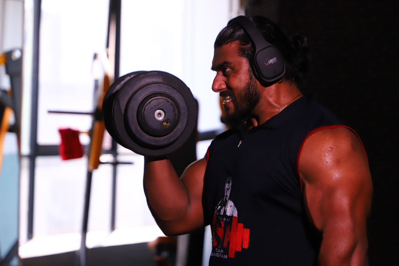 UBON signs in another gem as his brand ambassador - Mr. Sangram Chougule, the world champion body builder
