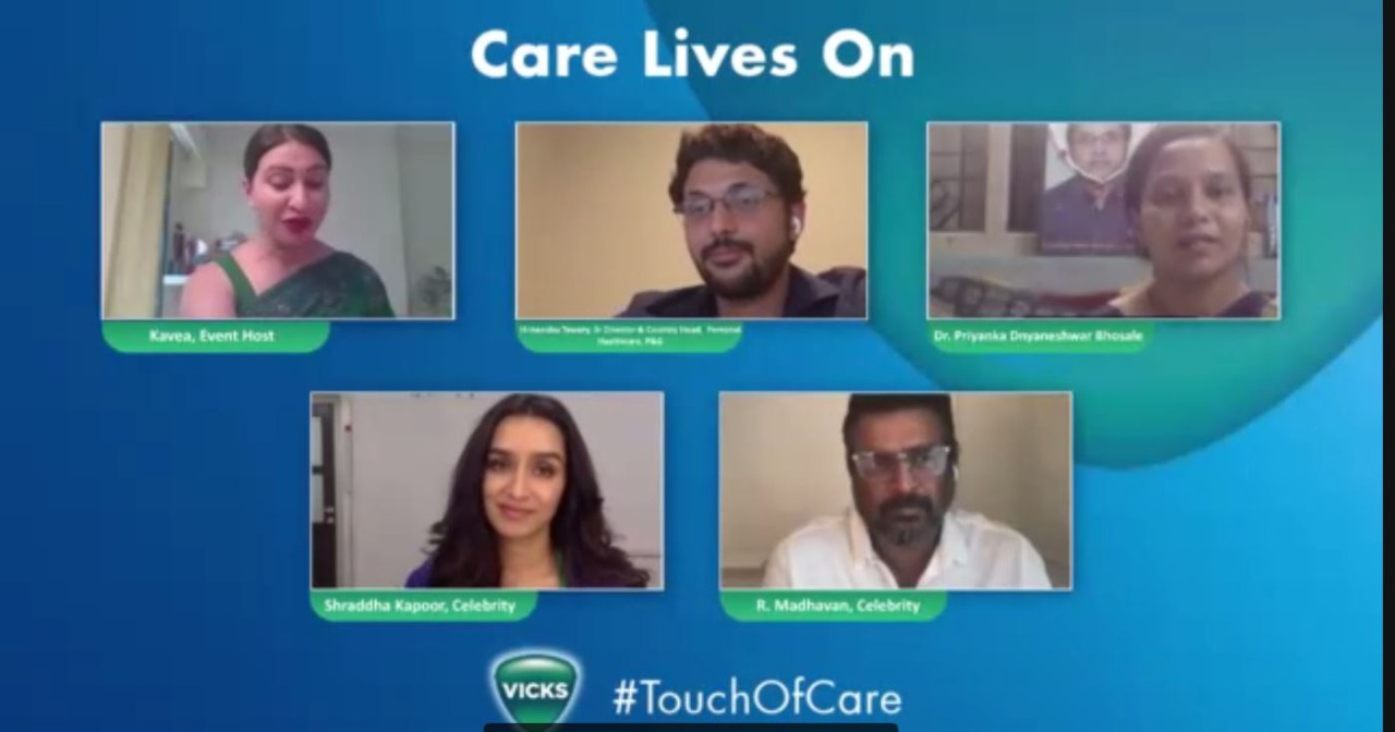 Shraddha Kapoor and R. Madhavan join Vicks' Iconic #TouchOfCare Campaign this National Doctors Day