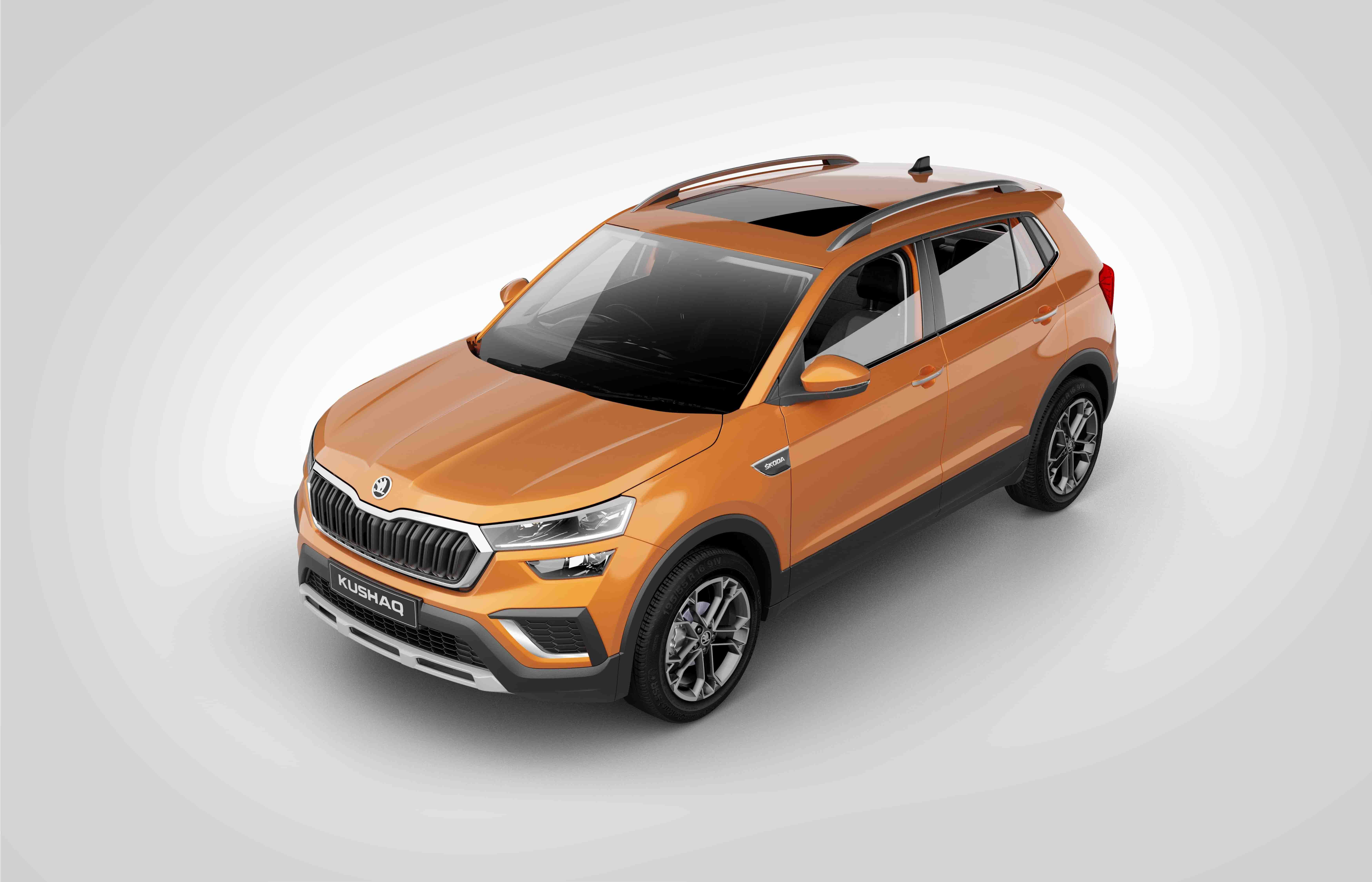 SKODA KUSHAQ launched in India at a starting Price of Rs. 10.49 lacs