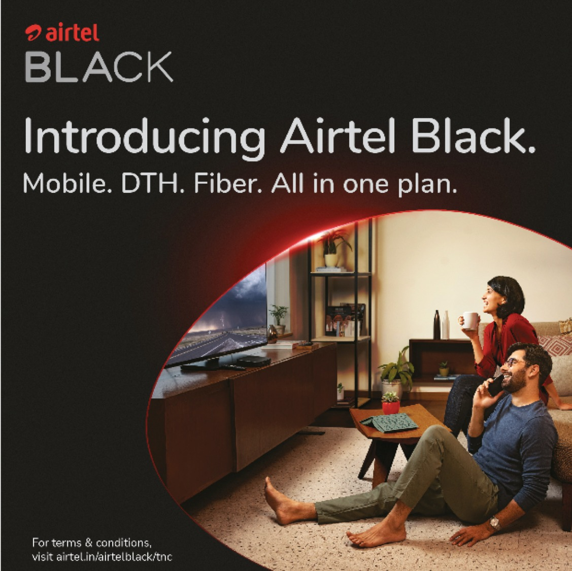 Airtel launches 'Airtel Black' – India's first all-in-one solution for Homes