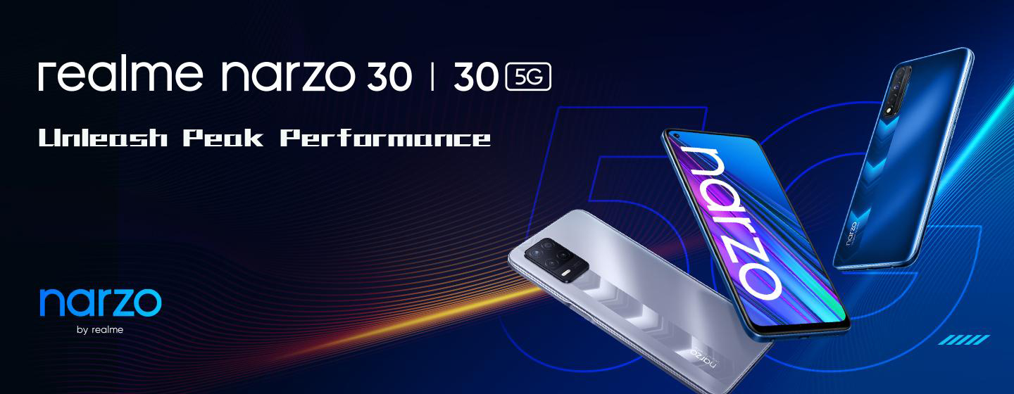 Realme introduces two new additions to narzo 30 family