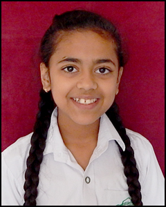 Ishti Singh of DPS Udaipur gets a gold medal in shooting